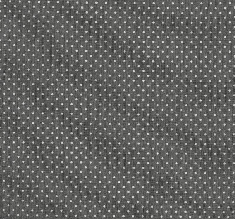 Oilcloth Dots Charcoal